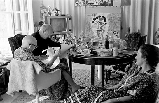 La exposición «Picasso TV» muestra la faceta más humana del artista