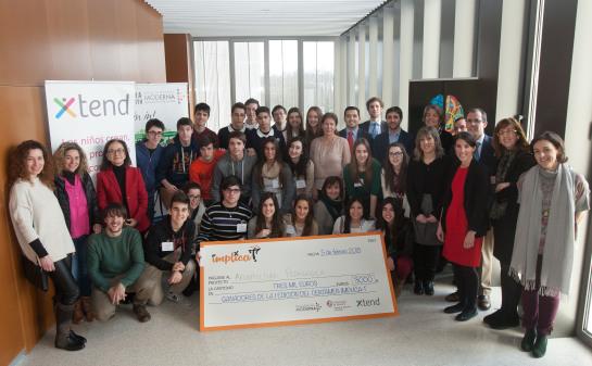 """El I Certamen Implica-T marca como propuesta ganadora la""""Arquitectura Pedagógica"""" del Colegio IES Marqués de Villena"""