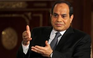 El presidente egipcio, Abdel Fatah al Sisi. DR