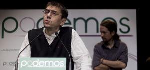 El Tesorero y número tres de Podemos, Juan Carlos Monedero. DR