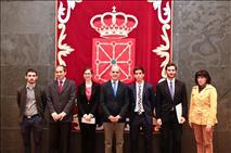 Daniel Estraviz y María Teresa Ausín, premios Aula de Derecho y Crónica Parlamentaria
