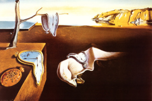 """Obra pictórica titulada """"La persistencia de la memoria"""" creada por Salvador Dalí en 1931."""