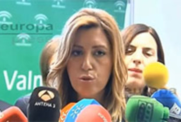 """Susana Díaz promete """"arrimar el hombro"""" para lo que el PSOE """"necesite"""""""