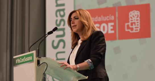 Susana Díaz cree que es compatible presidir una autonomía y liderar el PSOE