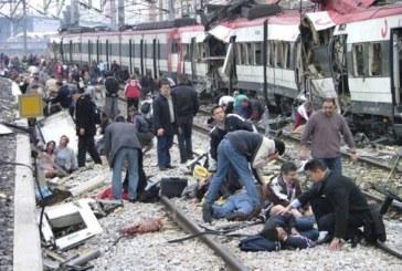 Varias Explosiones sacuden el centro de Madrid: 192 muertos y 1.800 heridos