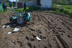 Herido grave en Fitero al chocar su motocultor contra un turismo