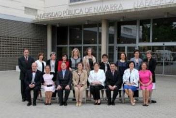 Acto de Graduación de 16 estudiantes del Aula de la Experiencia de la UPNA en Tudela