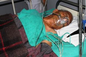 Rescatado con vida un hombre de 105 años una semana después del terremoto de Nepal