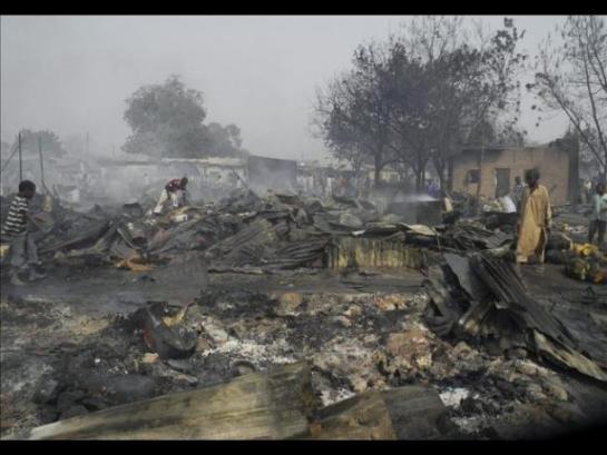 Al menos 10 muertos y 20 heridos por un atentado suicida en una mezquita de Nigeria