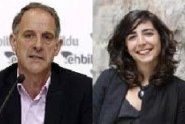 Geroa Bai, EH Bildu, Podemos e I-E cierran el acuerdo sobre la Mesa del Parlamento, que podría presidir Podemos
