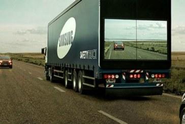 El «camión seguro», la idea de Samsung para salvar vidas