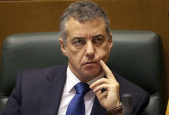Gobierno vasco desconoce el rechazo de Rajoy a una mesa tripartita sobre presos ETA