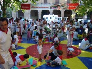 El parque infantil y juvenil 'Menudas fiestas' volverá los próximos Sanfermines