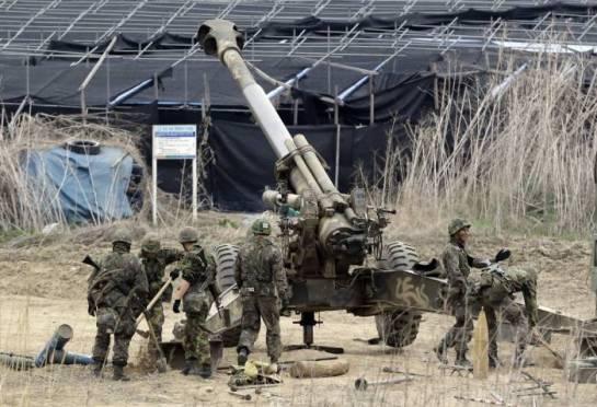 Corea del Sur, en alerta máxima tras el intercambio de fuego de artilleria con el Norte