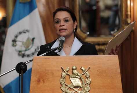 Imputan a la ex vicepresidenta de Guatemala por corrupción
