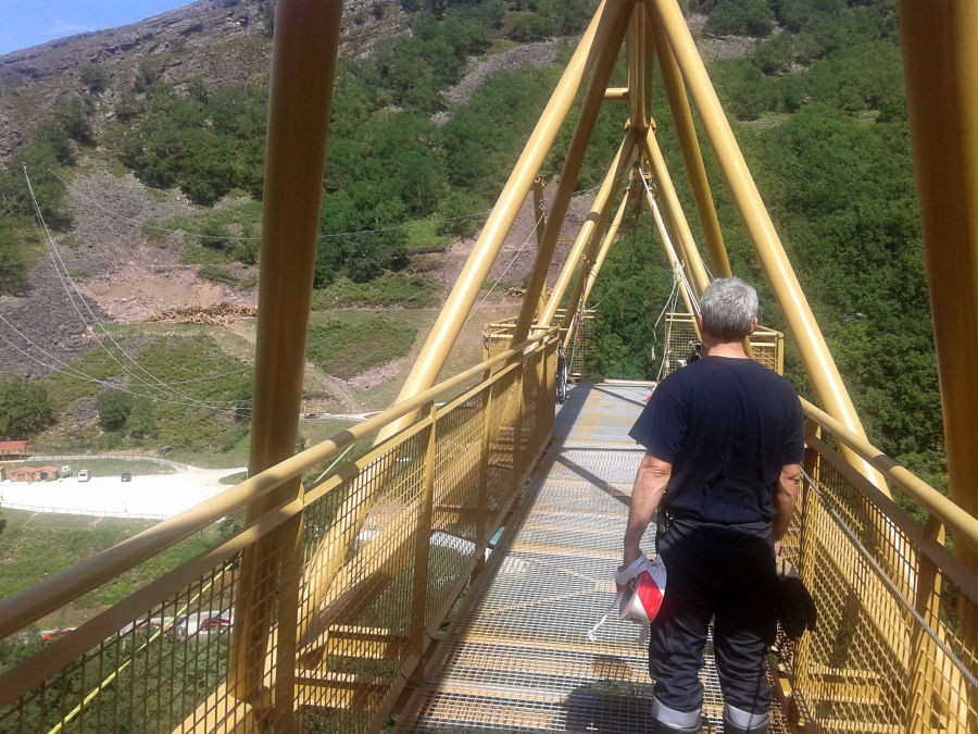 El parque de aventura de Baztan lamenta «profundamente» el accidente y dice que tiene todos los permisos necesarios