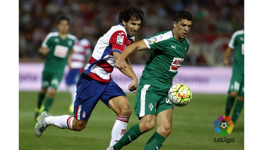 El Eibar, líder tras golear al Granada