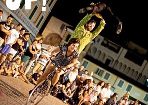 AGENDA: 26, 27, 28, 29 y 30, Tudela, Huarte, Viana, Alsasua y San Adrián, 'XIV Festival de Circo de Navarra'
