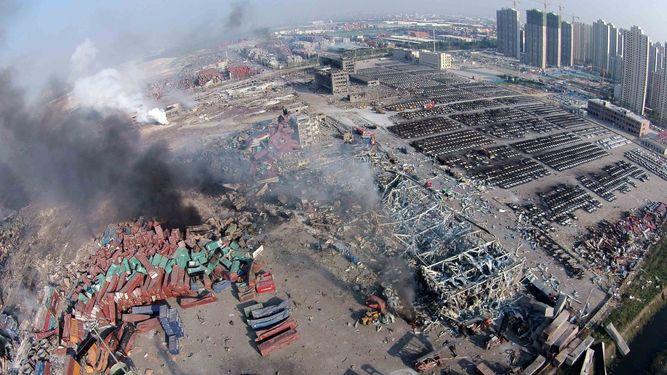 Detenida la cúpula de la empresa donde se produjeron las dos explosiones de la ciudad china de Tianjin