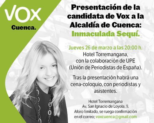 """La Presidenta de VOX Cuenca agredida mientras la llamaban """"fascista"""""""