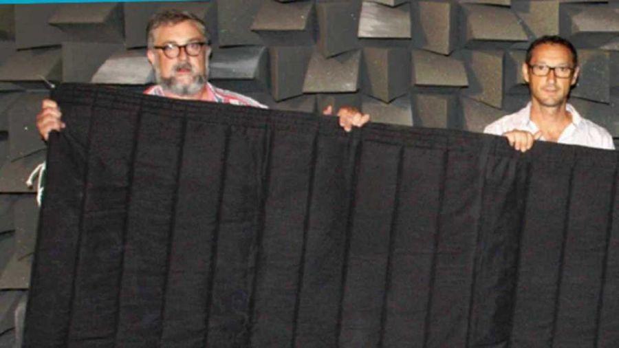 Diseñan una cortina que protege de la luz, ruido, calor, fuego y las radiaciones