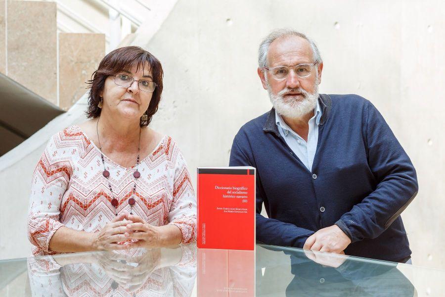 """La UPNA publica el tercer tomo del """"Diccionario biográfico del socialismo histórico navarro"""""""