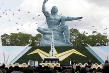 Nagasaki recuerda los 70 años del ataque nuclear con un alegato pacifista