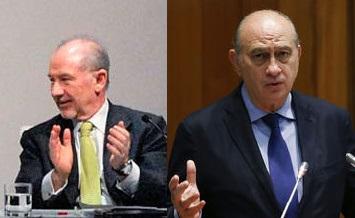 La oposición pide al ministro del Interior que aclare si recibió a Rato en su despacho