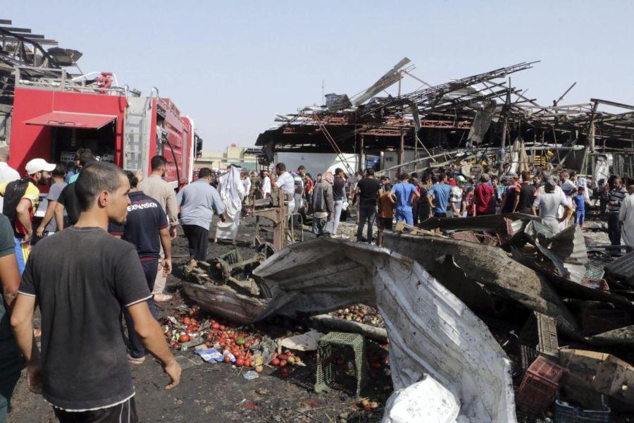 Un camión bomba deja al menos 60 muertos en Bagdad