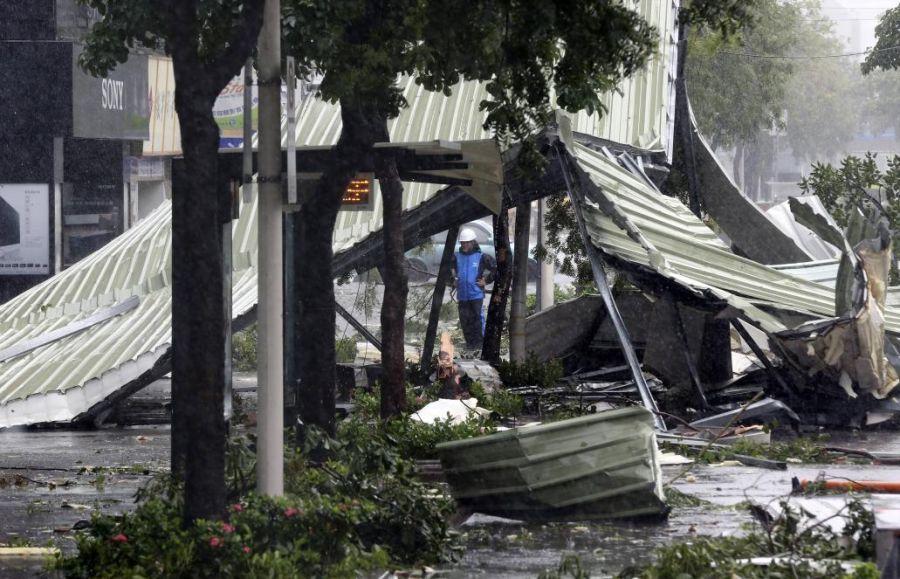 Cuatro muertos y un desaparecido en Taiwán tras el paso del tifón Soudelor