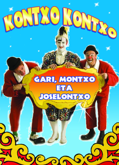 AGENDA: 27 de agosto, Plaza Gigantes de Noain, Los payasos Gari