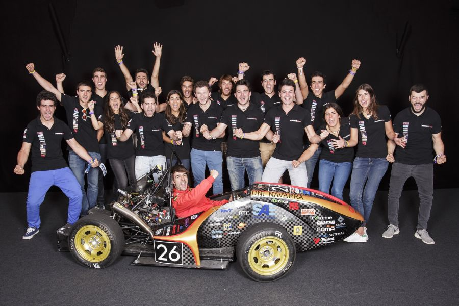 Más de 50 estudiantes de la Universidad de Navarra correrán en la Formula Student de Montmeló
