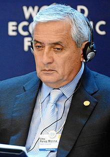 El lunes se decide sobre el juicio político al presidente de Guatemala, Pérez Molina
