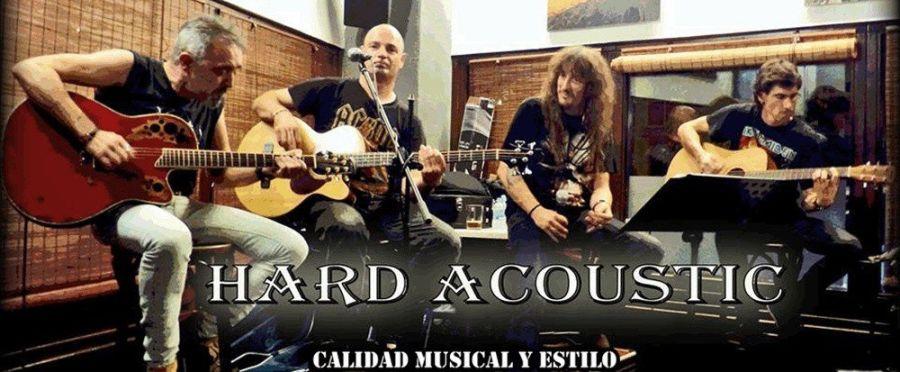 Hard Acoustic Band ofrece el lunes un concierto con temas de Judas Priest, ACDC, Helloween, Leño, Barricada o Motorhead