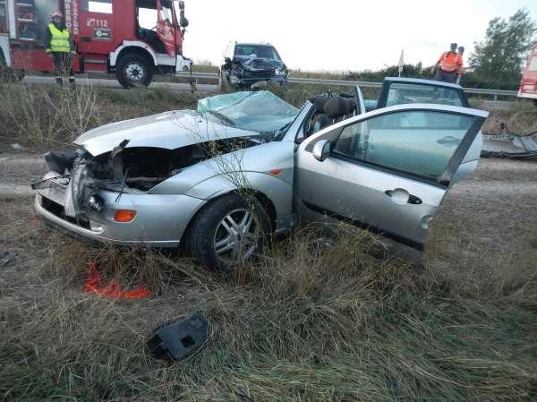 Un conductor de 42 años herido grave en una colisión ocurrida en Marcilla  V