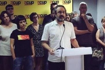 La CUP veta a Mas pero no hará «descarrilar» el proceso independentista