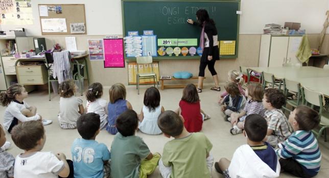La población escolarizable disminuirá en Navarra un 9,1% en los próximos años