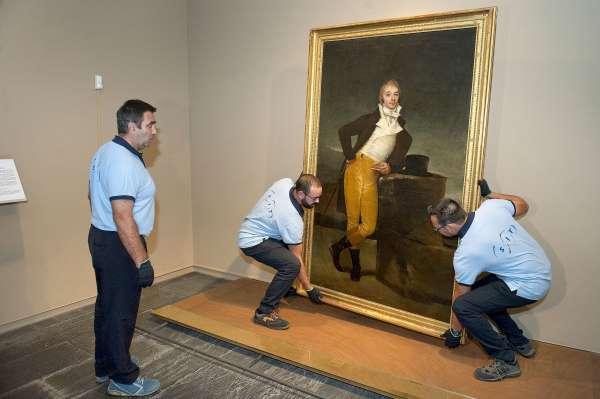Regresa de Londres el retrato del marqués de San Adrián tras participar en una exposición sobre Goya