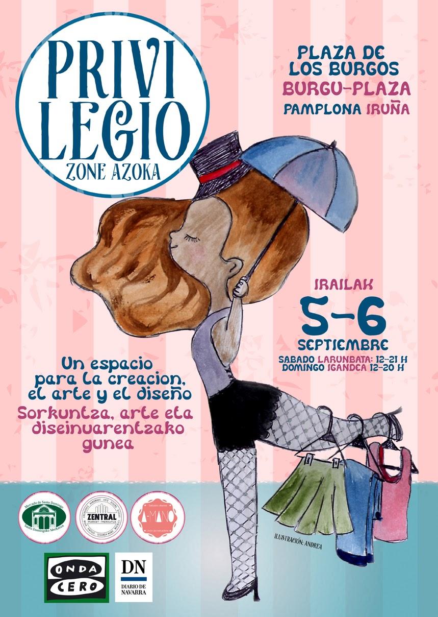 AGENDA: 5 y 6 de septiembre, en Zentral Cafe de Pamplona, 'Arte y diseño'