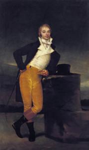 """""""El Marqués de San Adrián"""", obra de Francisco Goya."""