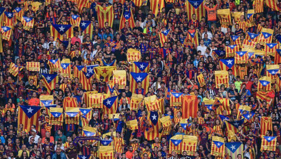 Otra multa amenaza al Barcelona por la exhibición de banderas independentistas
