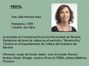 Perfil Ana Herrera 2015