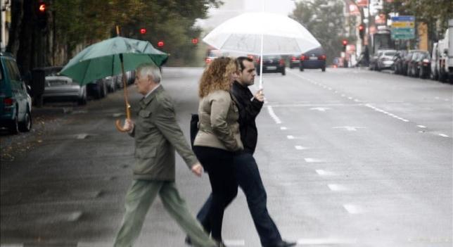 """Un """"baile de borrascas"""" dejará lluvias el fin de semana en casi todo el país"""