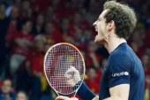 Murray se une a Wawrinka, Nishikori y del Potro como ganadores en su debut