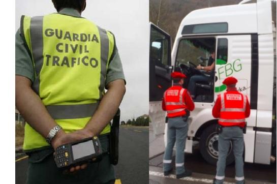 Las policías de Navarra dedicarán su primera campaña de tráfico del año al control de la velocidad