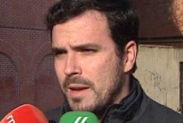 Garzón avisa al PP y a C's de que no les va a funcionar la campaña «del miedo»