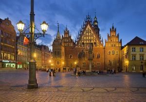 Breslavia-Wroclaw-Barrio de las cuatro confesiones