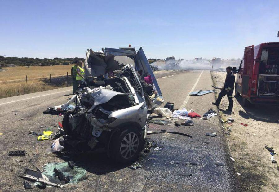 Fallecen 82 personas en carreteras en lo que va de enero, 4 menos que en 2015