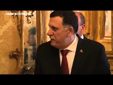 Los ciudadanos de Zlintan retienen al primer ministro del Gobierno libio de unidad