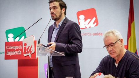 Garzón insiste en la unidad de Izquierda Unida con Podemos